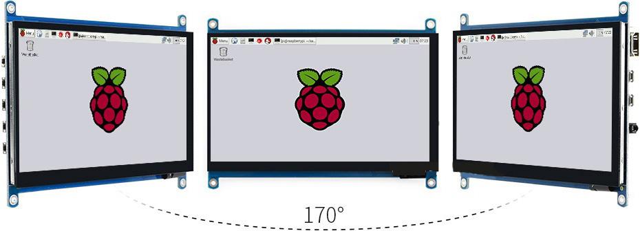 Новый 7-дюймовый дисплей наквантовых точках отWaveshareElectronics