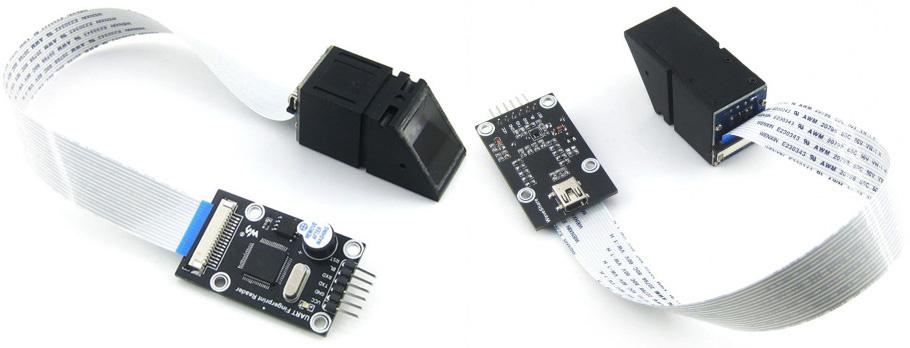 Сканер отпечатков пальцев UART Fingerprint Reader