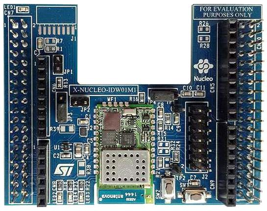 Wi-Fi решение для отладочных плат STM32 Nucleo на базе SWPF01SA