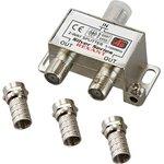 05-6101, Разветвитель (сплиттер) антенный на 2ТВ, 5-1000МГц