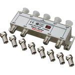 05-6105, Разветвитель (сплиттер) антенный на 8ТВ, 5-1000МГц