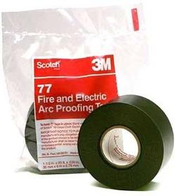Scotch 77, Лента термостойкая для защиты от огня и дугового разряда, 38мм х 6м