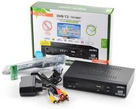 PERFEO PF-168-1 DVB-T2-РЕСИВЕР с функцией HD-медиаплеера, Цифровая ТВ-приставка
