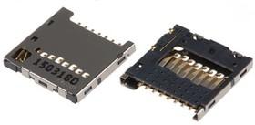 104031-0811, Раъъем для SD карты памяти