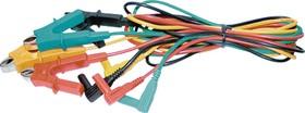 C3102, Провода соединительные с крокодилами (упаковка 4шт)