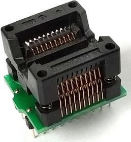 Фото 1/2 DIP-SOIC 8/14/16/18/20 pin 208 mil, Адаптер для программирования микросхем (замена HSC8W, AE-SC8/16UM, TSU-D08/SO08-208)