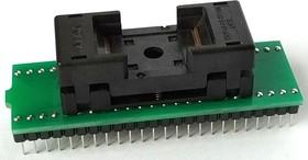 Фото 1/3 DIP48-TSOP48 12x20 mm, Адаптер для программирования микросхем (=TSR-D48/TS48-M20)