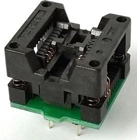 Фото 1/2 DIP-SOIC 8 pin 208 mil, Адаптер для программирования микросхем (=TSU-D08/SO08-208)