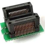 DIP-SOIC 16/18/20/24/28 pin 300 mil, Адаптер для программирования микросхем (=AE-SC18/28U, TSU-D28/SO28-300)