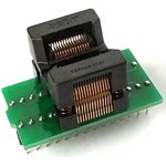 DIP-TSSOP 8/14/16/20/24/28 pin 173 mil, Адаптер для программирования микросхем (=AE-SP28U1, TSU-D28/TS28-170)