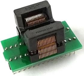 Фото 1/2 DIP-TSSOP 8/14/16/20/24/28 pin 173 mil, Адаптер для программирования микросхем (=AE-SP28U1, TSU-D28/TS28-170)