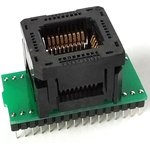 DIP32-PLCC32, Адаптер для программирования микросхем (=AE-P32U, TSU-D32/PL32)
