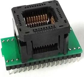 Фото 1/2 DIP32-PLCC32, Адаптер для программирования микросхем (=AE-P32U, TSU-D32/PL32)