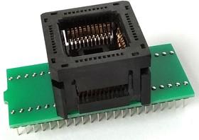 Фото 1/2 DIP44-PLCC44 [LIF AutoEject, Open top, Yamaichi], Адаптер для программирования микросхем (=AE-P44U, TSU-D44/PL44)