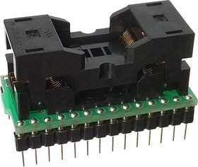 Фото 1/3 DIP28-TSOP28 8x13.4 mm, ZIF-Wells, Адаптер для программирования микросхем (=AE-TS28, TSR-D28/TS28-M13)