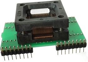 Фото 1/5 DIP40/64-TQFP64 16x16 mm 0.8 mm pitch, ZIF-Wells, Адаптер для программирования микросхем(=HTQ6408, DP40/TQL64ST1, AE-Q64-ATm128, TSH-D40/TQ6