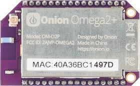 Фото 1/2 Omega2+, Самый маленький Linux одноплатный компьютер с Wi-Fi для разработки IoT приложений
