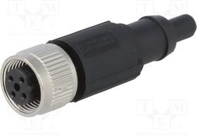SAC-5P-M12FSPBTR, Терминатор M12 PIN 4