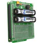 Фото 3/4 MIKROE-712, Battery Boost Shield, Плата раширения для mikromedia bord с макетной областью и батарейным отсеком