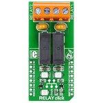 MIKROE-1370, RELAY click, Релейный модуль 5A 250VAC/30VDC ...
