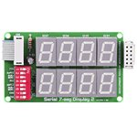 MIKROE-202, Serial 7-seg Display 2 Board, Дочерняя плата с ...