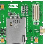 Фото 4/4 MIKROE-1428, GSM booster+MMCX-SMA Cable+GSM antenna, Плата для макетирования устройств на базе модуля GSM/GPRS GL865-QUAD GSM Telit