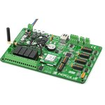 Фото 3/4 MIKROE-1428, GSM booster+MMCX-SMA Cable+GSM antenna, Плата для макетирования устройств на базе модуля GSM/GPRS GL865-QUAD GSM Telit