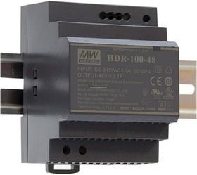 Фото 1/3 HDR-100-24, Блок питания, 24В,3.83А,92Вт
