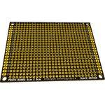 PCB 60x80 black, Плата макетная, 60мм х 80мм, PCB (шаг2.54мм)