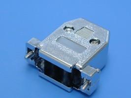 DN-15C, Корпус разъема 15 контактов, металлизированный