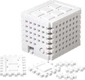 Фото 1/4 Structor-Slot Box XL, Корпус для быстрой сборки самоделок из Arduino (#Структор)