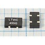 Пьезокерамический полосовой SMD фильтр 455кГц с полосой пропускания 9кГц ф 455 ...
