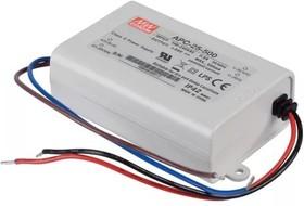 Фото 1/3 APC-25-350, AC/DC LED, 25-70В,0.35А,24.5Вт,IP42 блок питания для светодиодного освещения