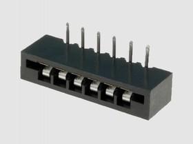 FB-12 (KLS1-219-12-S), Разъем под плоский кабель, шаг 2.54мм прямой