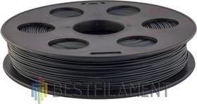 Bflex-пластик 1.75 мм (0.5 кг) Темно-серый, Пластик для 3D принтера
