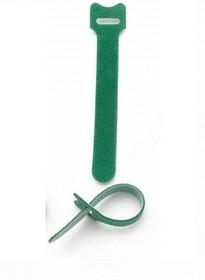 PL9607, Хомут-липучка (стяжка) 150мм х 12мм, 10 шт / 1 цвет / зеленый (PL9607)