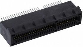 PCIE-064-02-F-D-EMS2, Разъем, Серия PCIE, PCIe, 64 контакт(-ов), Гнездо, 1 мм, Поверхностный Монтаж