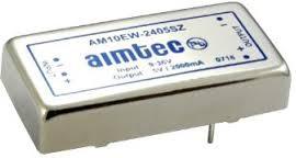 AM10EW-2412SZ, DC/DC преобразователь, 10 Вт; вход 9-36 В; выход 12 В/830 мА
