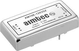 AM10E-4815SZ, DC/DC преобразователь, 10Вт, Вход 36…72В, выход 15В/650мА