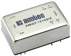 AM10T-2415SIZ, DC/DC преобразователь, 10 Вт, вход 18-36 В, выход 15 В/660 мА