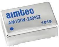 AM10TW-2415DZ, DC/DC преобразователь, 10 Вт, вход 9-36 В, выход +15, -15 В/±330 мА