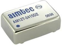 AM12T-4812DZ, DC/DC преобразователь, 12Вт, вход 36…75В, выход ±12В/±0,5А