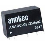 AM1DC-0505DH60Z, DC/DC преобразователь, 1Вт, вход 4.5…5.5В, выход ±5В/±100мА