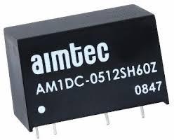 AM1DC-0505SH60Z, DC/DC преобразователь, 1Вт, вход 4.5…5.5В, выход 5В/200мА