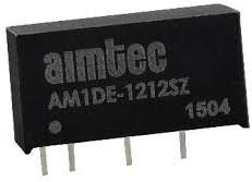 AM1DE-0505DH30Z, DC/DC преобразователь, 1 Вт, вход 4,5..5,5 В, выход +5, -5 В/±100 мА