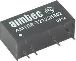 AM1DR-0509SH30Z, DC/DC преобразователь, 1Вт, вход 4.5…5.5В, выход 9В/110мА