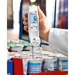 Фото 4/4 testo 104-IR, Термометр инфракрасный/проникающий водонепроницаемый, складной