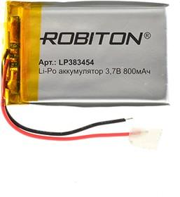 LP383454, Аккумулятор литий-полимерный (Li-Pol) 800мАч 3.7В, с защитой