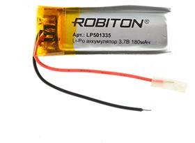 Фото 1/2 LP501335, Аккумулятор литий-полимерный (Li-Pol) 180мАч 3.7В, с защитой