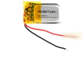 Фото 1/2 LP601120, Аккумулятор литий-полимерный (Li-Pol) 100мАч 3.7В, с защитой